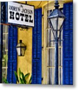 The Andrew Jackson Hotel - New Orleans Metal Print