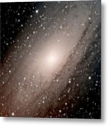 The Andromeda Galaxy Close  Up Metal Print