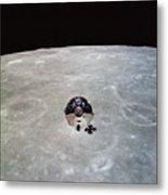 The Apollo 10 Command And Service Metal Print