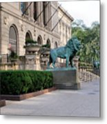 The Art Institute Of Chicago - 3 Metal Print