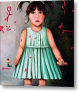 The Artist-beginning Of A Child Prodigy Metal Print