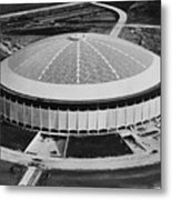 The Astrodome Aka The Eighth Wonder Metal Print by Everett