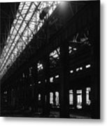 The Back Shop Metal Print