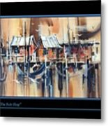 The Bait Shop Metal Print