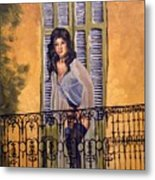 The Balcony Metal Print