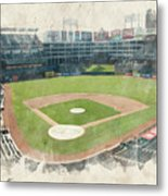 The Ballpark Metal Print by Ricky Barnard