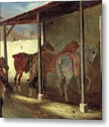 The Barn Of Marechal-ferrant Metal Print