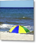 The Beach Is Mine Metal Print