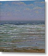 The Beachcomber Metal Print