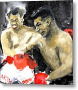 The Beast In The Ring Metal Print