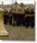 The Bell Is Present On The Beach Metal Print by Stocktrek Images