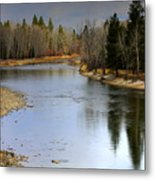 The Bitterroot River Montana Metal Print