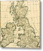 The British Isles Metal Print