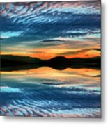 The Brush Strokes Of Evening Metal Print by Tara Turner