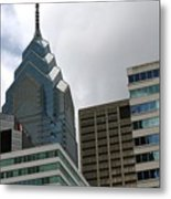 The Building  Metal Print