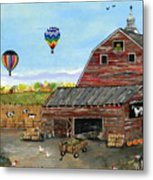 The Burch Farm Metal Print