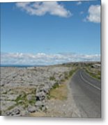 The Burren Metal Print