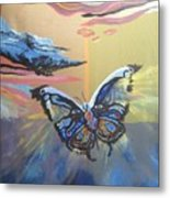 The Butterfly  Metal Print