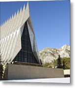 The Cadet Chapel At The U.s. Air Force Metal Print