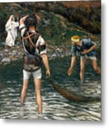 The Calling Of Saint Peter And Saint Andrew Metal Print by Tissot