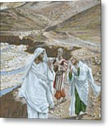 The Calling Of St. Andrew And St. John Metal Print by Tissot