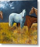 The Calm After The Storm Metal Print by Frances Marino