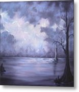 The Calm Before The Storm Metal Print