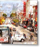 The Castro In San Francisco . 7d7573 Metal Print