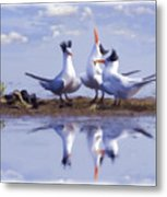 The Chorus Metal Print by Thanh Thuy Nguyen