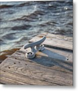 The Cleat Metal Print