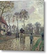 The Coach To Louveciennes Metal Print