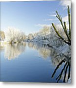 The Cold River Metal Print