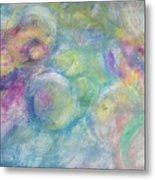 The Color Of Bubbles Metal Print
