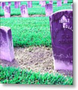 The Colored Dead Metal Print