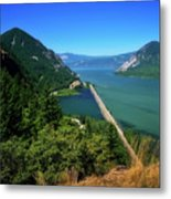 The Columbia Gorge National Scenic Area Metal Print