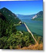 The Columbia Gorge National Scenic Area Metal Print