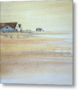 the cottages on BH Island Metal Print