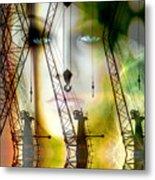 the Crane Affair Metal Print