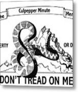 The Culpepper Minute Men Metal Print