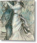 The Dance Metal Print by Pierre Auguste Renoir