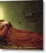The Death Of Germaine Cousin The Virgin Of Pibrac Metal Print