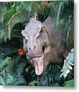 The Dinosaurs Lunch Metal Print
