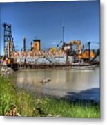The Docks II Metal Print by Lawrence Christopher