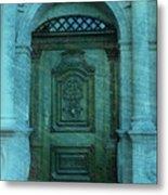 The Door To The Secret Metal Print by Susanne Van Hulst