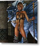 The Dragon Princess Metal Print