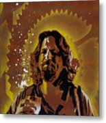 The Dude Metal Print by Tai Taeoalii