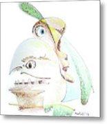 The Egg And I Metal Print