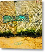 The Emerald Bow Tie Metal Print