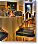 The Empty Chair Metal Print