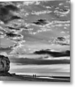 The End Of The Day, Old Hunstanton  Metal Print by John Edwards